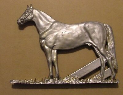 Vintage Horse Figure by Sterling Metal Sign for Ranch or Farm Gates or Paddock
