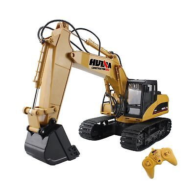 Fistone RC Excavator 15CH 2.4G Crawler Truck Wireless Digger Games Toy Electr...