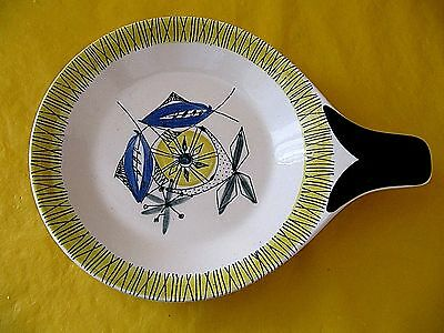 STAVANGERFLINT NORWAY FLAMINGO 1960's DISHES ovnsildfast&ildfast, used in VGC