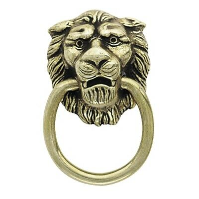 6 Pack Amerock BP888-AE Classics Lion Head Cabinet Ring Pulls in Antique Brass