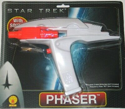 New Star Trek Movies Rubies Hand Phaser Toy NEW UNUSED MINT ON CARD