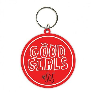 5 SECONDS OF SUMMER good girls 2014 - RUBBER KEYCHAIN official merchandise