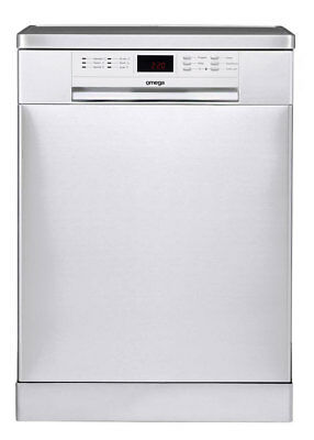 Omega - ODW717X - 60cm Freestanding Dishwasher WELS 4 Star
