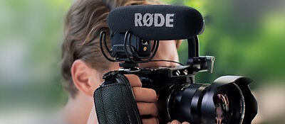Rode VideoMic Pro R - Super Cardioid Condenser Microphone with Rycote Onboard