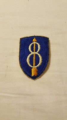 US Army WW2 8th Infantry Division Patch