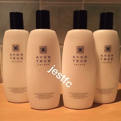 Avon~JOB LOT~Conditioning Eye Make Up Remover Lotion~x4 Lots
