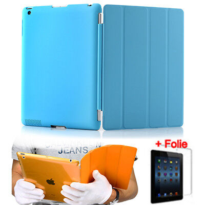 "Smart Case + Back Cover für iPad 2 3 4 Air 2 iPad Pro 12,9"" & Mini Tasche Etui"