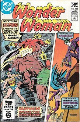 Wonder Woman Comic Book #282, DC Comics 1981 VERY FINE-