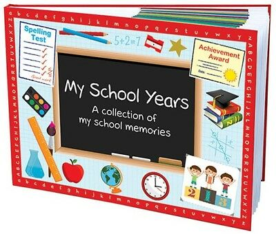 My School Years Book (Hardcover) - Keepsake for child's school memories