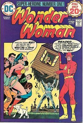 Wonder Woman Comic Book #213, DC Comics 1974 VERY FINE+