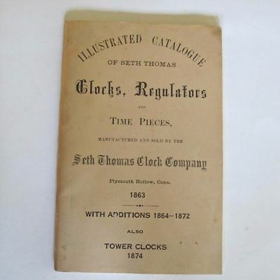 Illustrated Catalog of SETH THOMAS Clocks, Regulators and Time Pieces