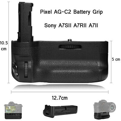 PIXEL AG-C2 Battery Grip For Sony A7SII A7RII A7II Work with NP-FW50 Battery