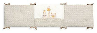 Interbaby 91580-05 Mod Basic Friends Tour de lit Beige 45 x 2,28 cm
