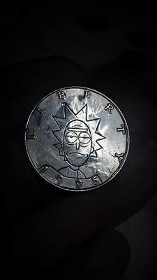 Coalburn Hobo Nickel  hand carved coin currency art OHNS Rick and Morty