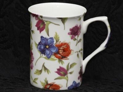 STECHCOL GRACIE STRAWFLOWERS Bone China Cylinder Mug