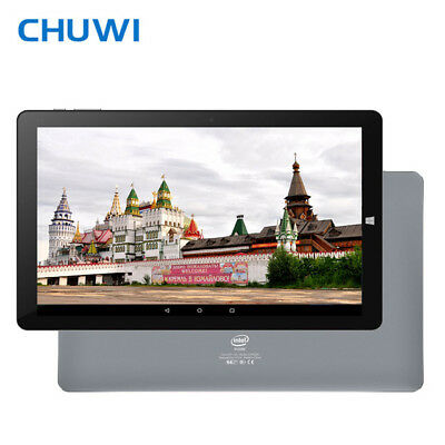 CHUWI HI10 PLUS 10.8'' Tableta PC Win10+ Android 5.1 Intel Quad Core 4GB+ 64GB