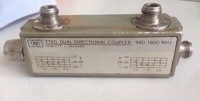 HP 776D Dual Directional Coupler 940- 1900 MHz