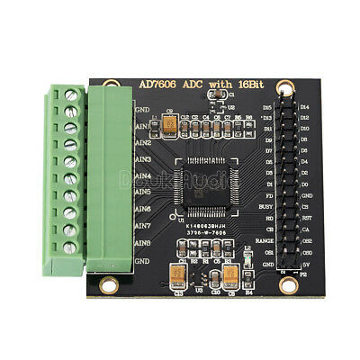 AD7606 8-Channels AD Data Acquisition Module 16-bit ADC 8-Synchronous 200KHz