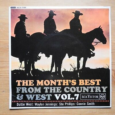 """The Month's Best from the Country & West Vol 7 - 7"""" single (1966) RCX-7186"""
