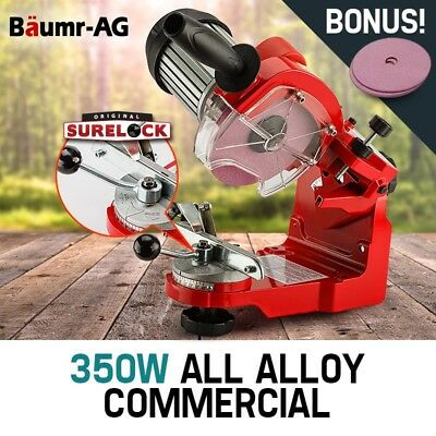 350W Alloy Pro Series Chainsaw Sharpener Commercial Heavy Duty Sharpening Blades
