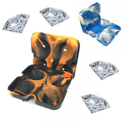 New Ice Cube Freeze Tray Mould Pudding Chocolate Jelly Mold Maker Bar Fashion