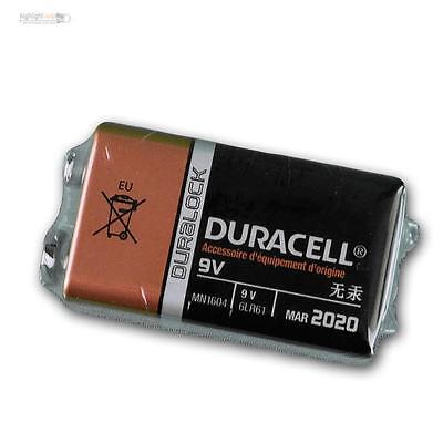 9V-Block 6LR61 MN1604 battery duracell plus OEM Version, block battery 9 Volt V