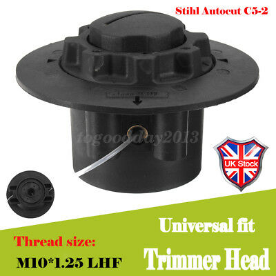 UK 4x Universal Strimmer Bump Feed Line Brush Cutter Replacement Trimmer Head