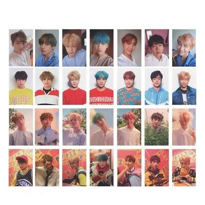7Stk Fashion KPOP BTS Bangtan Boys Collective Personal Photo card Lomo Cards