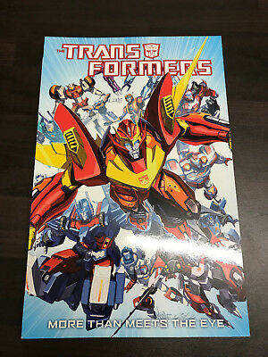 Transformers More Than Meets The Eye Graphic Novel NEW