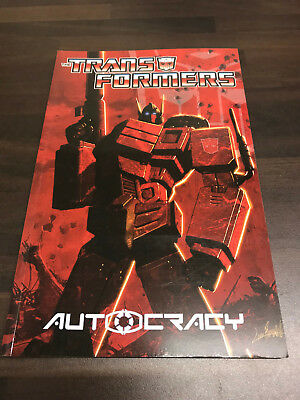 Transformers Autocracy Graphic Novel TPB NEW