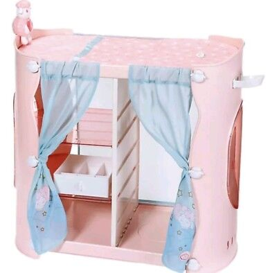 BABY ANNABELL 2-in-1 Baby Unit Wardrobe/Changing Table ...