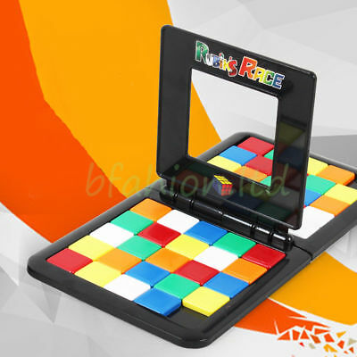 Magic Block Puzzle Board Game Rubix Race Mind Game Puzzle Kids Family Toy Gift