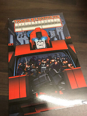 Transformers Ironhide Graphic Novel TPB NEW
