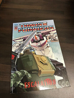 Transformers Escalation Graphic Novel TPB NEW
