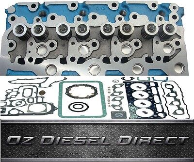 V2203 New Complete Cylinder Head + Full Gasket for Kubota V2203 bobcat tractor