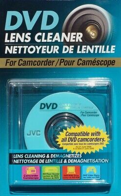 JVC CL-DVD8BLK Mini DVD Lens/Laser Cleaning Disc 8cm For Camcorders /Brand New