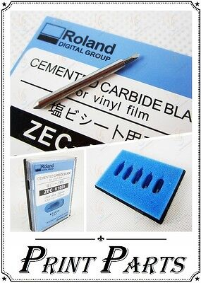 5 x ROLAND 45* CEMENTED CARBIDE - BLADES-large format Printers-ROLAND