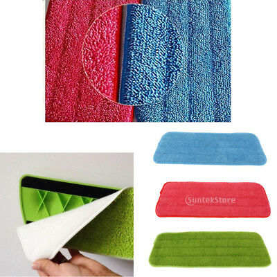 Replacement Microfiber Mop Pad Reusable Mop Head Mop Pads Cloth Fit Spray Mops