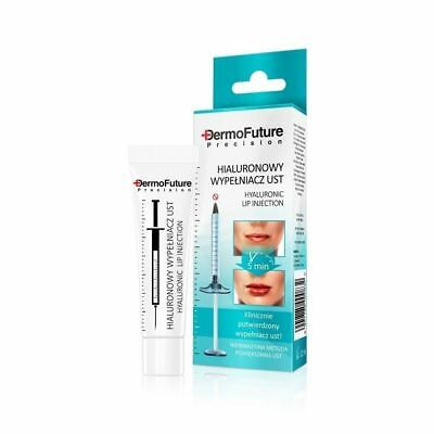 DermoFuture Precision Hyaluronic Lip Injection Acid Plumper Filler Booster 12ml