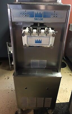 Taylor 0336 Soft Serve Twin Twist Ice Cream Machine 208V Single Phase Air Cooled