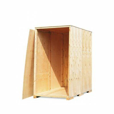 Übersee Kiste | Übersee Container | Holz Lagerbox | Gr. II - 221 x 140 x 234 cm