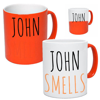 Personalised Funny Heat Changing Mug With Name Tea & Coffee For Him Her Xmas