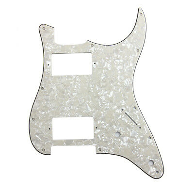 Pickguard HH 3Ply Aged Pearl For Electric Guitar Fender Strat Stratocaster Parts