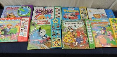 Lot Of 8 Sound Books lot