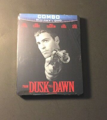From Dusk Till Dawn [ Limited STEELBOOK Edition ] (Blu-ray / DVD Combo) NEW