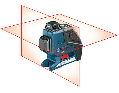 Bosch GLL2-80 Dual Plane Leveling and Alignment Laser With Pulse +L-BOXX New