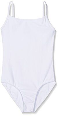 Wear Moi Diane Justaucorps Fille, Blanc, FR : 4 Ans (Taille Fabricant : 4-6 Ans)