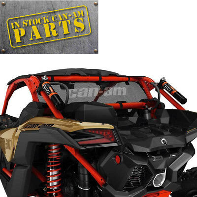 Can-Am New OEM Maverick X3 Black Mesh Rear Windscreen  715002897 - In Stock