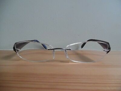 OPTICUNION Germany Original Brille Eyeglasses Bril Randlos 61.882 02 Rimless XUOuS4V1