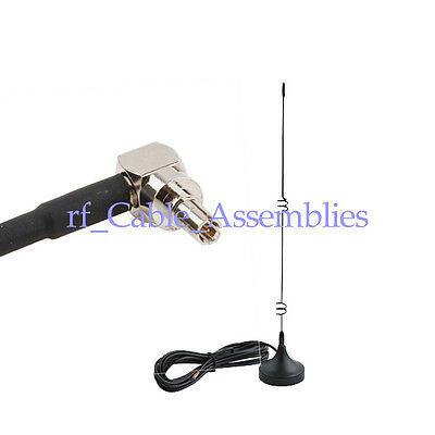 3x 5dbi Magnetic Omni Antenna GSM 3G CRC9 Connector for Optus Dodo Virg HUAWEI